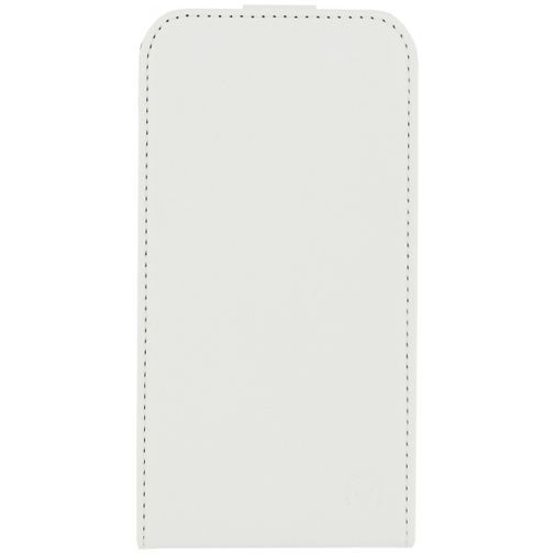 Productafbeelding van de Mobilize Ultra Slim Flip Case White Samsung Galaxy J1