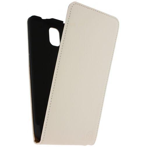 Productafbeelding van de Mobilize Ultra Slim Flip Case White Samsung Galaxy Note 3