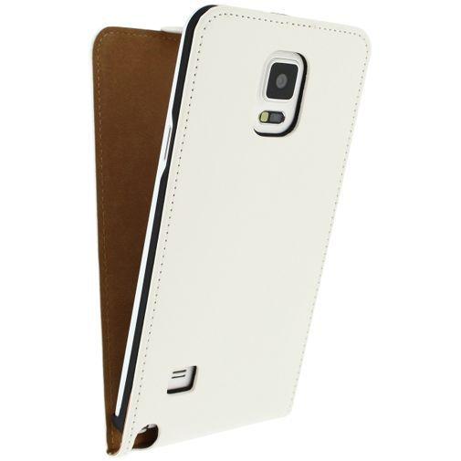 Mobilize Ultra Slim Flip Case White Samsung Galaxy Note 4