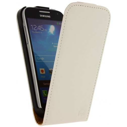 Productafbeelding van de Mobilize Ultra Slim Flip Case White Samsung Galaxy S4 Mini (VE)