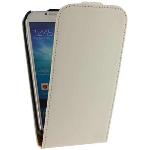 Productafbeelding van de Mobilize Ultra Slim Flip Case White Samsung Galaxy S4