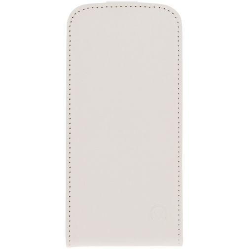 Productafbeelding van de Mobilize Ultra Slim Flip Case White Samsung Galaxy S5 Mini