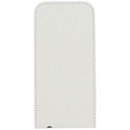 Productafbeelding van de Mobilize Ultra Slim Flip Case White Samsung Galaxy S6
