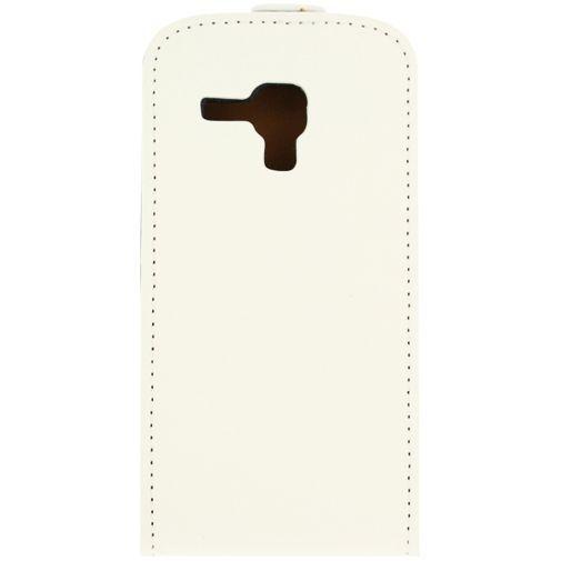 Productafbeelding van de Mobilize Ultra Slim Flip Case White Samsung Galaxy Trend (Plus)