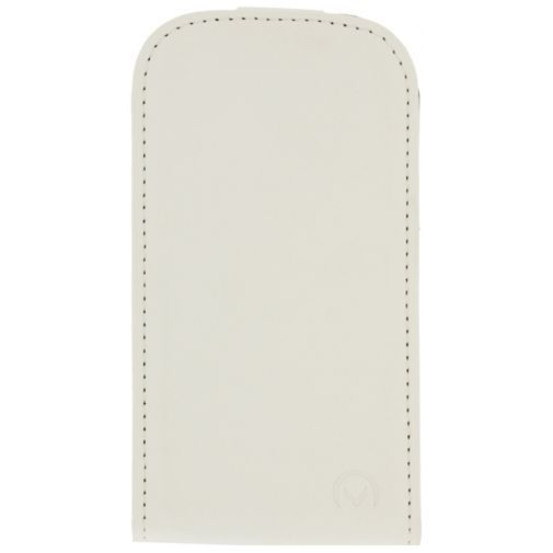 Productafbeelding van de Mobilize Ultra Slim Flip Case White Samsung Galaxy Young