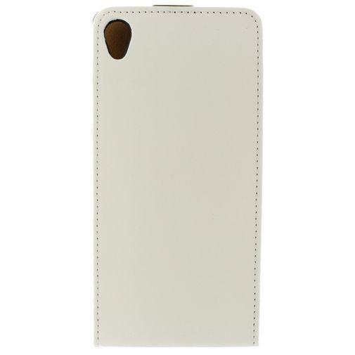 Productafbeelding van de Mobilize Ultra Slim Flip Case White Sony Xperia Z3