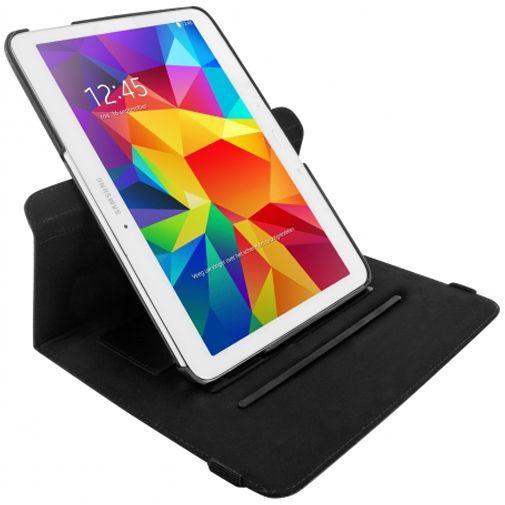 Productafbeelding van de Mobiparts 360 Rotary Stand Black Samsung Galaxy Tab 4 10.1