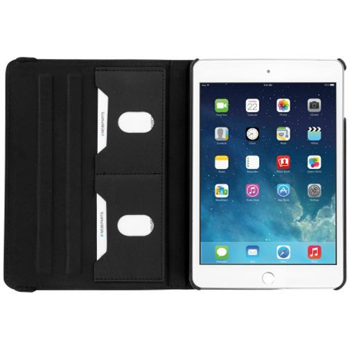 Productafbeelding van de Mobiparts 360 Rotary Stand Case Black Apple iPad Mini 4