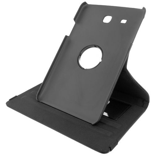 Productafbeelding van de Mobiparts 360 Rotary Stand Case Black Samsung Galaxy Tab E 9.6