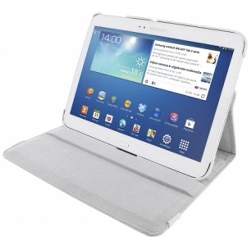 Productafbeelding van de Mobiparts 360 Rotary Stand Samsung Galaxy Tab 3 10.1 White