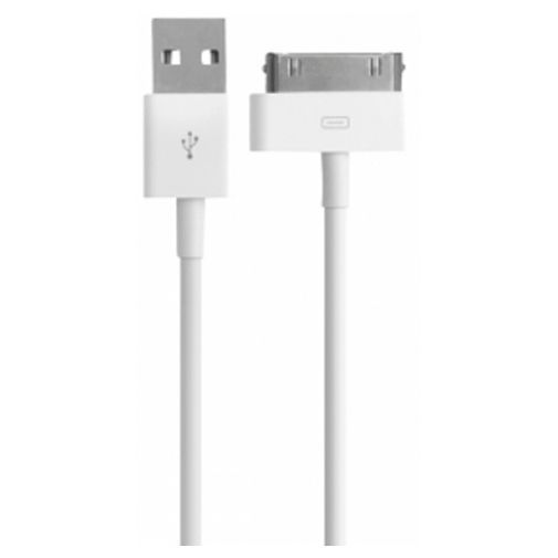Productafbeelding van de Mobiparts Apple 30 Pin to USB Cable 1m White