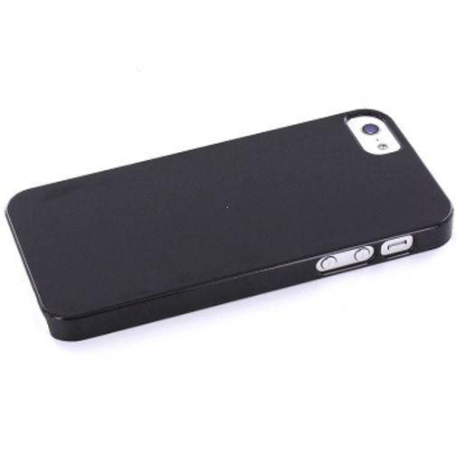 Productafbeelding van de Mobiparts Backcover Apple iPhone 5 Black