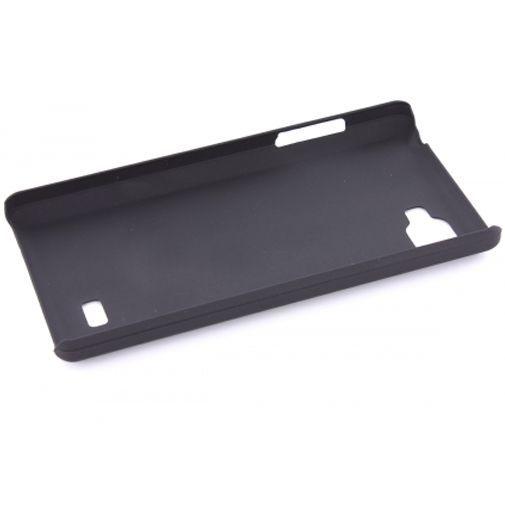 Productafbeelding van de Mobiparts Backcover LG Optimus 4X HD Black