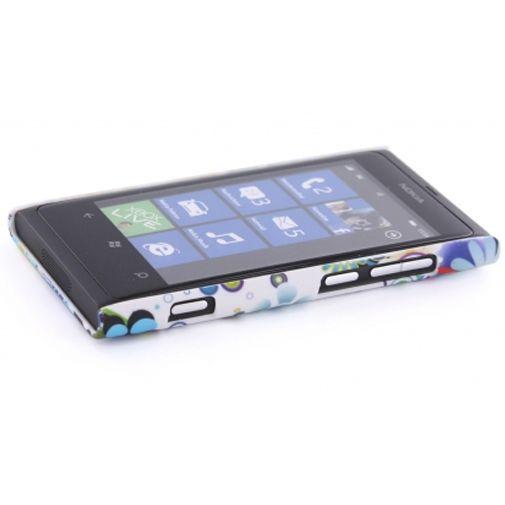 Productafbeelding van de Mobiparts Backcover Nokia Lumia 800 Colorful Flower