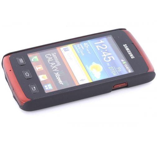 Productafbeelding van de Mobiparts Backcover Samsung S5690 Galaxy Xcover Black