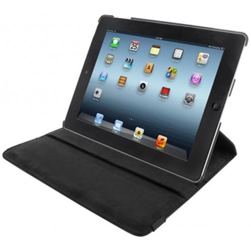 Productafbeelding van de Mobiparts Case 360 Rotary Stand Black Apple iPad 2/3/4