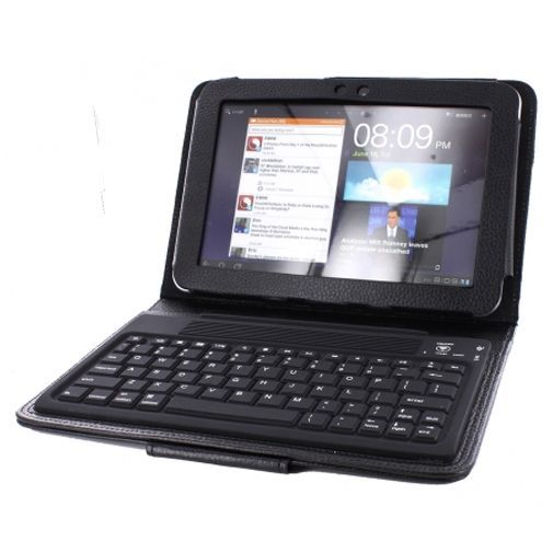 Productafbeelding van de Mobiparts Case Bluetooth Keyboard Black Samsung Galaxy Tab 8.9