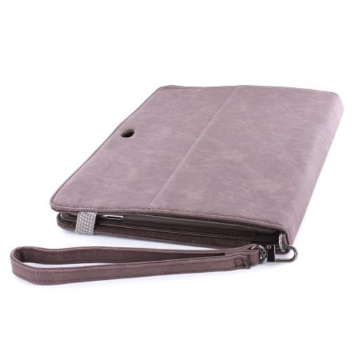Productafbeelding van de Mobiparts Case Handheld Brown Samsung Galaxy Tab 10.1
