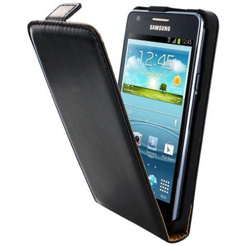 Productafbeelding van de Mobiparts Classic Flip Case Samsung Galaxy S2 (Plus) Black