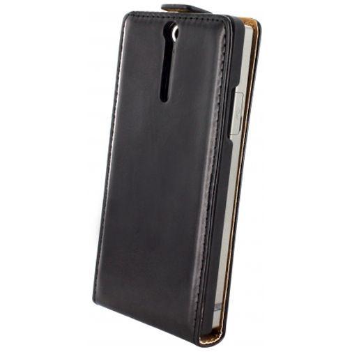 Productafbeelding van de Mobiparts Classic Flip Case Sony Xperia S Black