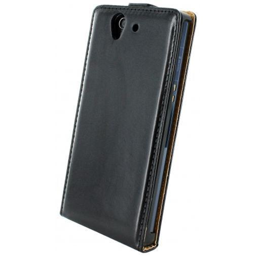 Productafbeelding van de Mobiparts Classic Flip Case Sony Xperia Z Black