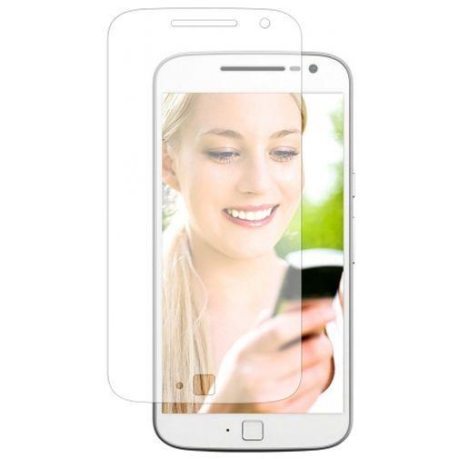 Productafbeelding van de Mobiparts Clear Screenprotector Motorola Moto G4 Plus 2-Pack