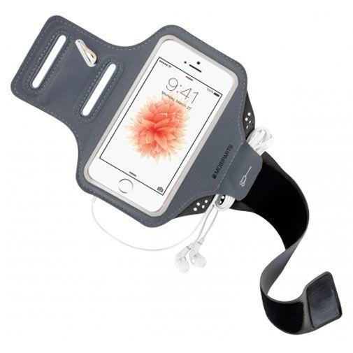 Mobiparts Comfort Fit Sport Armband Black Apple iPhone 5/5S/SE