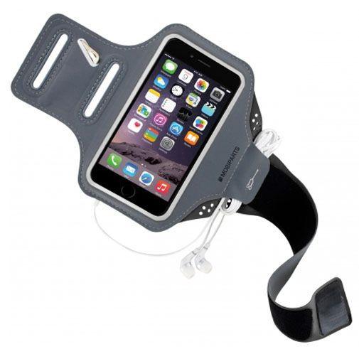Productafbeelding van de Mobiparts Comfort Fit Sport Armband Black Apple iPhone 6 Plus/6S Plus