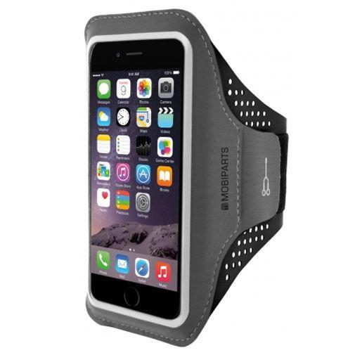 Produktimage des Mobiparts Comfort Fit Sport Armband Schwarz Apple iPhone 7 Plus/8 Plus