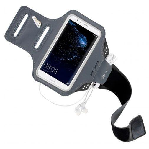 Productafbeelding van de Mobiparts Comfort Fit Sport Armband Black Huawei P10 Lite