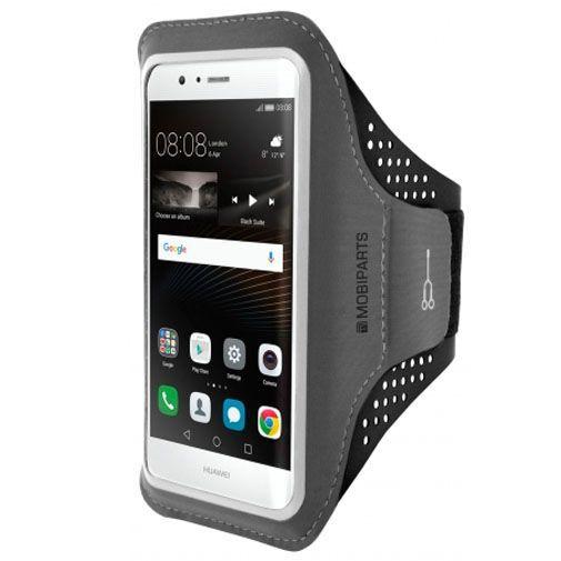 Productafbeelding van de Mobiparts Comfort Fit Sport Armband Black Huawei P9 Lite