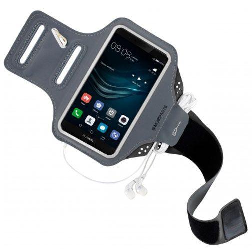 Productafbeelding van de Mobiparts Comfort Fit Sport Armband Black Huawei P9