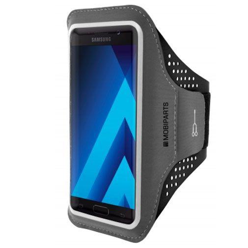 Produktimage des Mobiparts Comfort Fit Sport Armband Schwarz Samsung Galaxy A5 (2017)