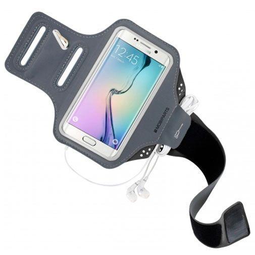 Mobiparts Comfort Fit Sport Armband Black Samsung Galaxy S6 Edge