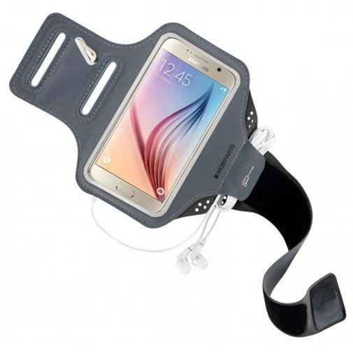 Productafbeelding van de Mobiparts Comfort Fit Sport Armband Black Samsung Galaxy S6