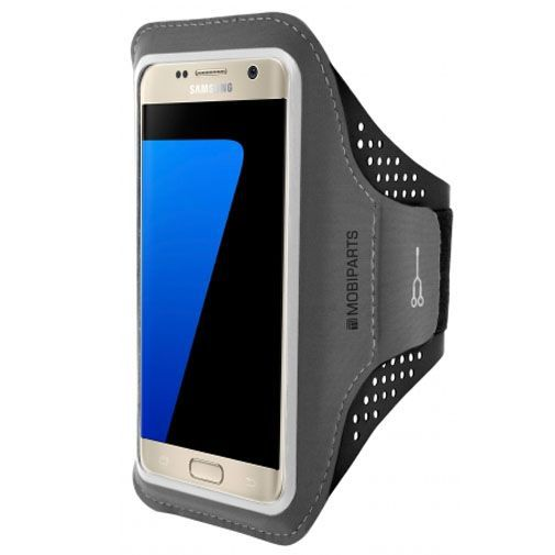 Productafbeelding van de Mobiparts Comfort Fit Sport Armband Black Samsung Galaxy S7