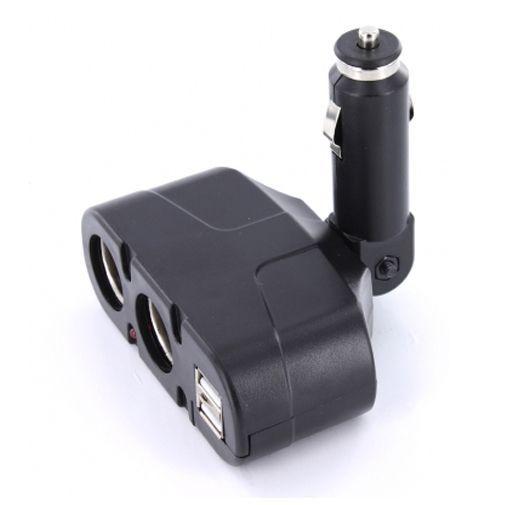 Productafbeelding van de Mobiparts Duo Sigarettenaansteker + Duo USB Aansluiting