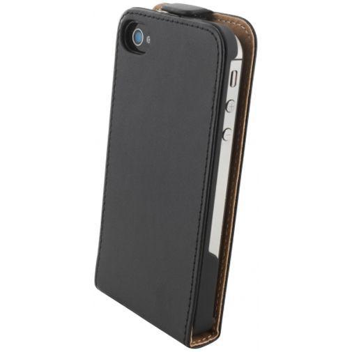 Productafbeelding van de Mobiparts Essential Flip Case Black Apple iPhone 4/4S