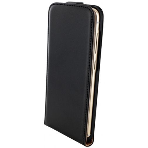 Productafbeelding van de Mobiparts Essential Flip Case Black HTC One A9