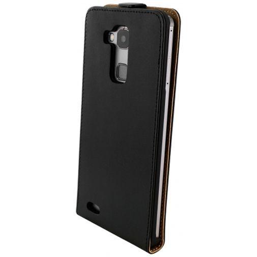 Productafbeelding van de Mobiparts Essential Flip Case Black Huawei Ascend Mate 7