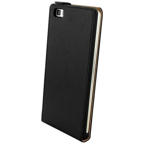 Mobiparts Essential Flip Case Black Huawei P8 Lite