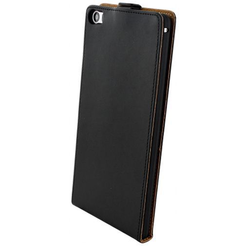 Productafbeelding van de Mobiparts Essential Flip Case Black Huawei P8 Max