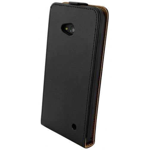 Productafbeelding van de Mobiparts Essential Flip Case Black Microsoft Lumia 640