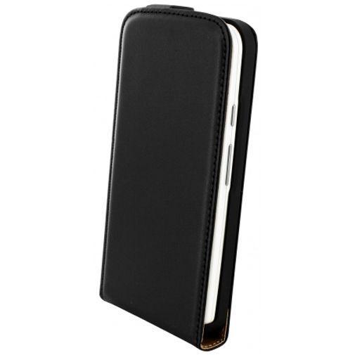 Productafbeelding van de Mobiparts Essential Flip Case Black Motorola Moto G (4G)
