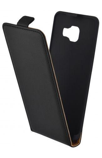 Productafbeelding van de Mobiparts Essential Flip Case Black Samsung Galaxy A3 (2016)