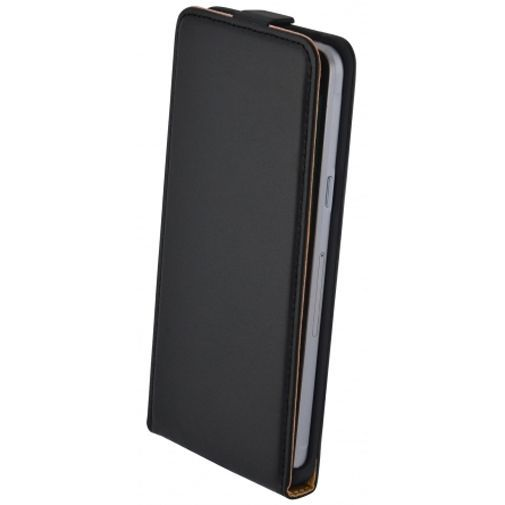 Productafbeelding van de Mobiparts Essential Flip Case Black Samsung Galaxy A5 (2016)