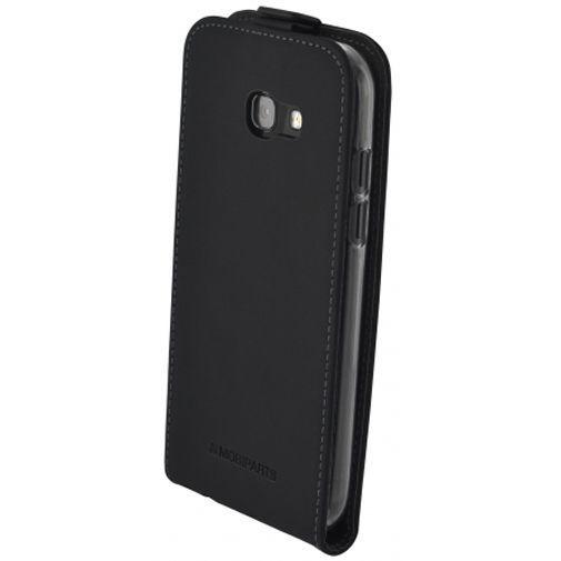 Mobiparts Essential Flip Case Black Samsung Galaxy A5 (2017)