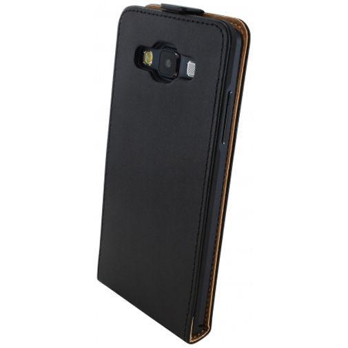 Productafbeelding van de Mobiparts Essential Flip Case Black Samsung Galaxy A5
