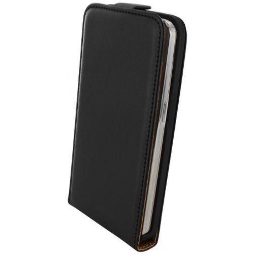 Productafbeelding van de Mobiparts Essential Flip Case Black Samsung Galaxy Core 2