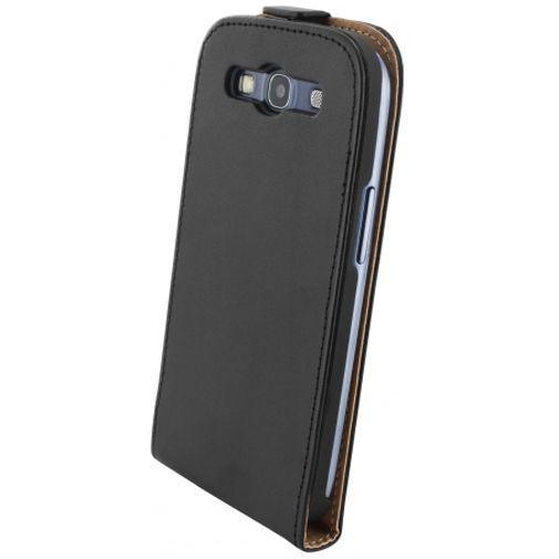 Mobiparts Essential Flip Case Black Samsung Galaxy S3 (Neo)